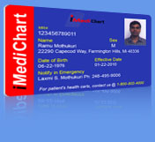 iMediChart.com Card